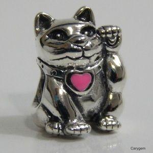 Pandora Lucky Cat Charm